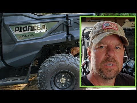 2013 Honda Pioneer 1000 review & Why I chose Polaris Ranger