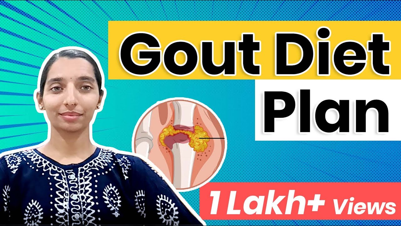What to eat and what to avoid with gout