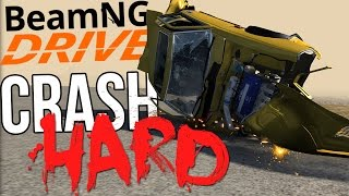 BeamNG.Drive Gameplay - Crash Hard - Rough Car Crashes - BeamNG