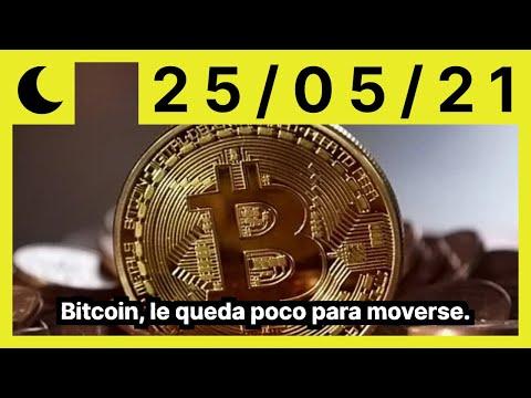 Bitcoin, le queda poco para moverse.
