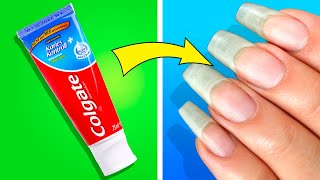 37 SIMPLE BEAUTY AND NAIL HACKS YOU MUST KNOW