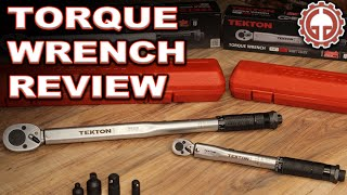 "TEKTON 1/2"" & 1/4"" Torque Wrench UNBOXING & REVIEW"