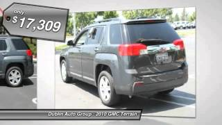2010 GMC Terrain for sale in Dublin, CA - Dublin Chevrolet, Cadillac, Buick, GMC and Kia 1