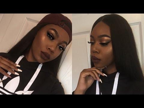 Glam Baddie Makeup + Makeup Tips For Beginners!