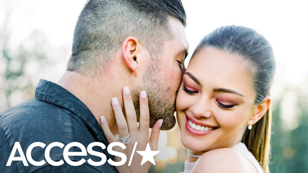 Tim Tebow announces engagement to former Miss Universe Demi-Leigh Nel-Peters