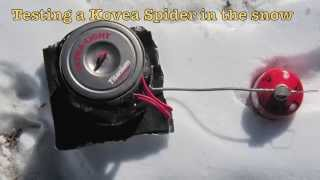 Kovea Spider in the Snow by FLAT CAT GEAR Thumbnail