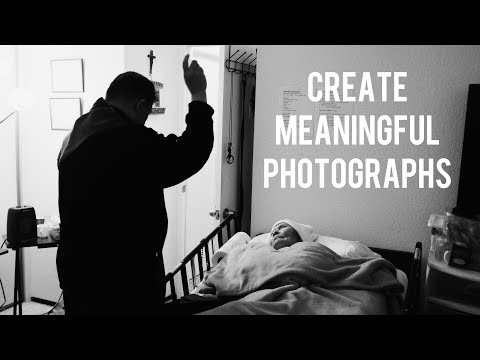Photograph for Yourself & Create Meaningful Work