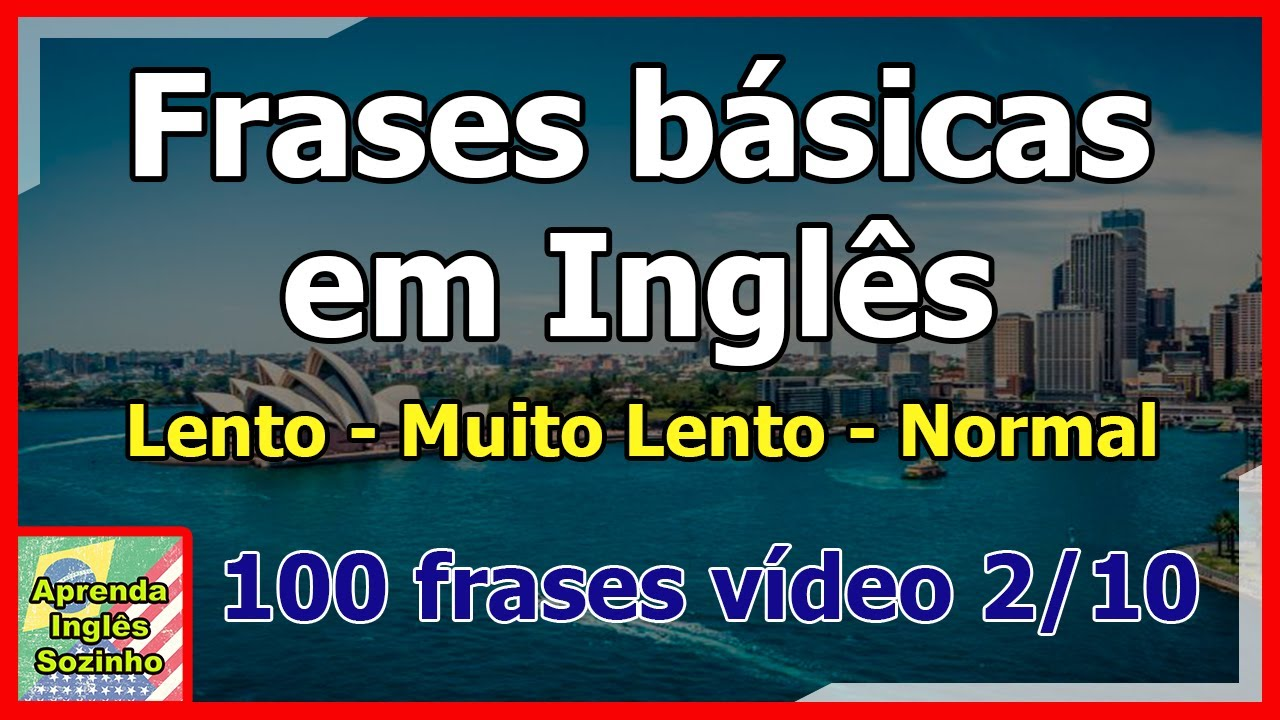 Como Falar Ingles Sozinho Você Deve Aprender Frases Em Inglês Fácil 28