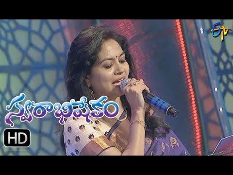 Soggade Chinni Nayana Song | Sunitha Performance | Swarabhishekam | 8th October 2017 | ETV  Telugu