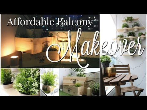 Home Tour | AFFORDABLE Balcony Makeover & Decor Hacks for a Small Space