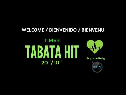 TABATA 20´´-10´´ Music workout and countdown