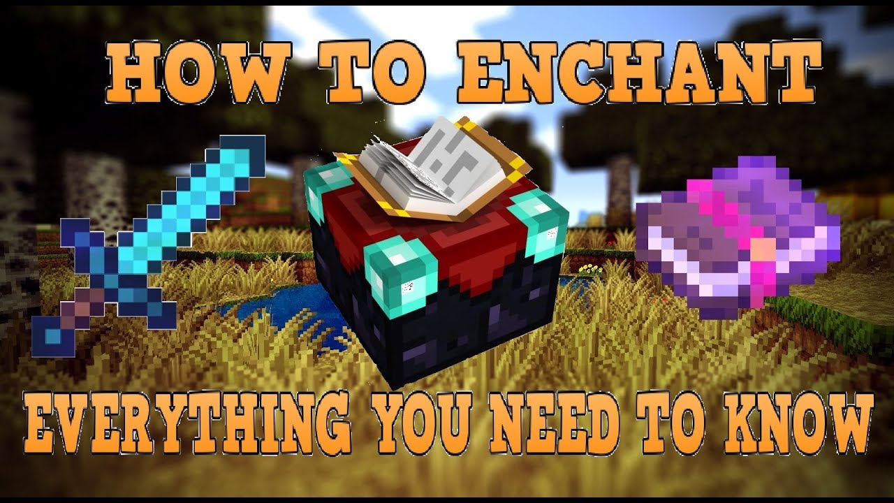 How To Enchant In Minecraft After All Updates - YouTube