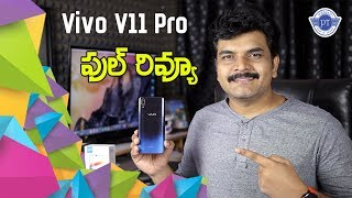 Vivo V11 pro Full Review With Pros & Cons ll in telugu ll