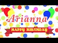 Happy birthday arianna song mp3