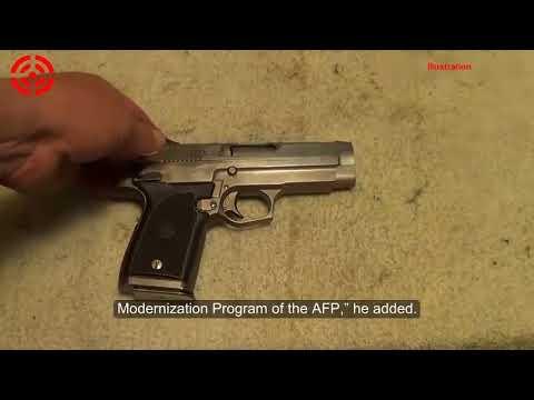 Bumibili ang Army ng Pilipinas ng 3000 Pistols Mula sa ARMSCOR Global Defense Inc