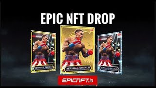 Jermall Charlo x EpicNFT.io Boxing NFTs