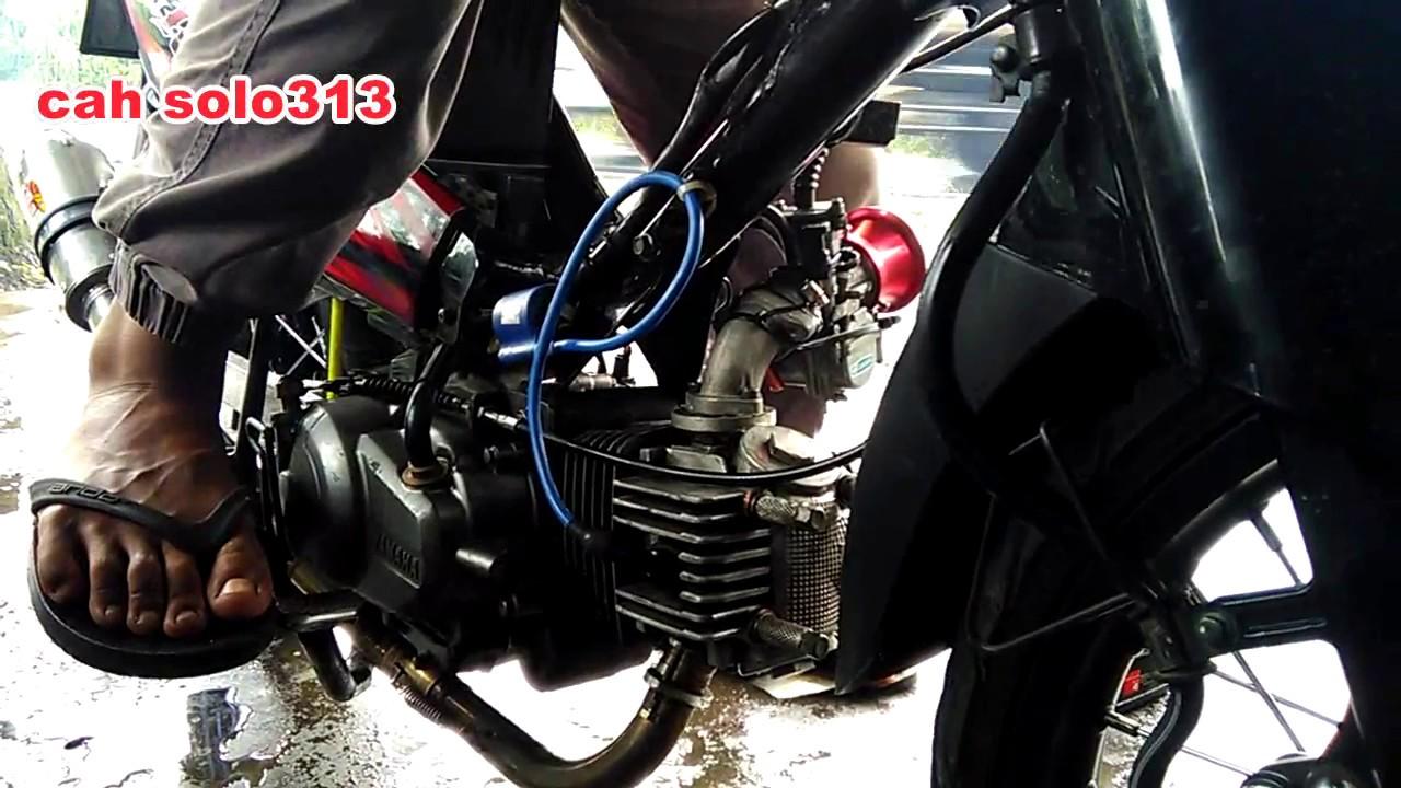 Test Karbu Pwk Sudco 28 Di Vega Harian Bore Up Youtube Panom Black Series Thailand