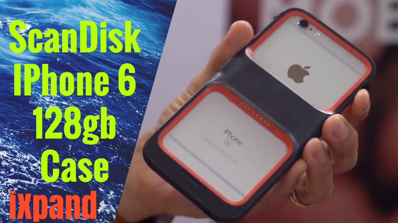 online store 5286c 107f6 SanDisk iXpand Memory Case for iPhone 128gb first look and review 2016