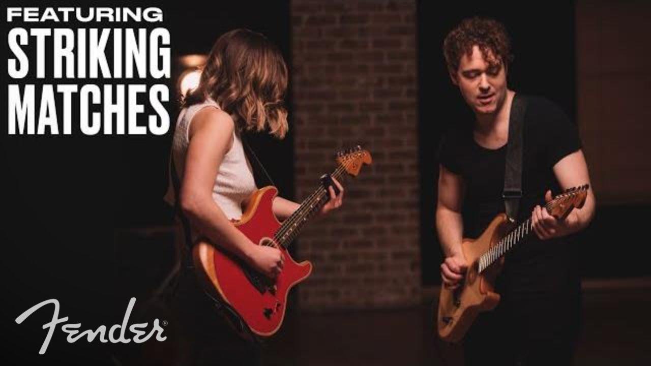 Striking Matches | American Acoustasonic Stratocaster  | Fender