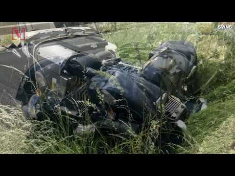 Traffic Accident: Morgan Plus 4 Crashed Into Audi