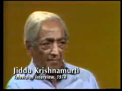 Jiddu Krishnamurti - Be a light to yourself