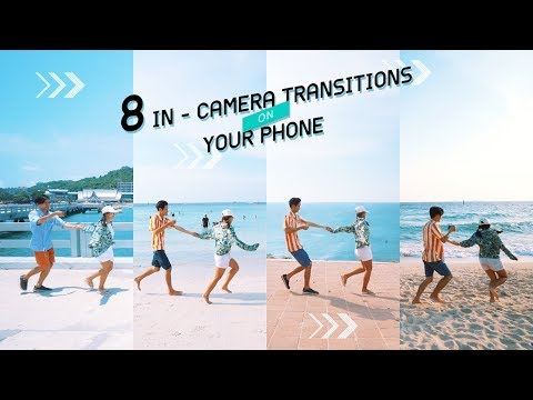8 IN - CAMERA VIDEO TRANSITIONS ON YOUR PHONE 📱🐟 (Easy Photography Ideas)