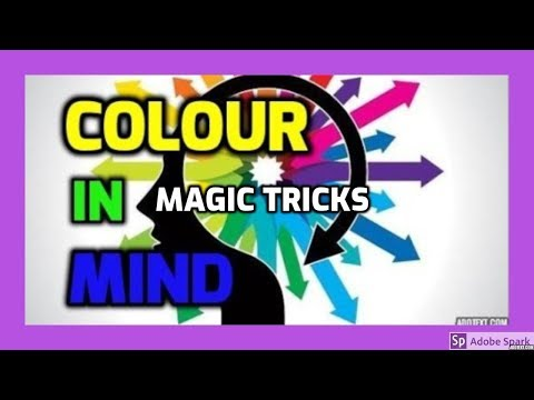 MAGIC TRICKS VIDEOS IN TAMIL #353 I COLOUR IN MIND @Magic Vijay