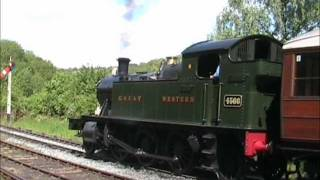 4566 departs Highley on the Severn Valley Railway Thumbnail