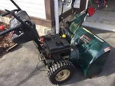 free broken snowblower, will it live?
