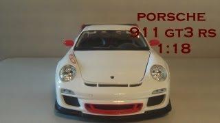 Bburago 1:18 Porsche 911 GT3 RS Review