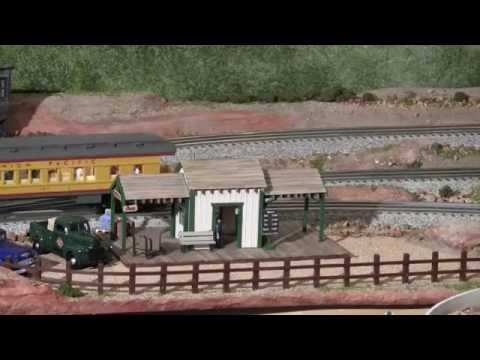 LCJ&I Lines, 32. Red rock canyon, pt 2: Contention City depot