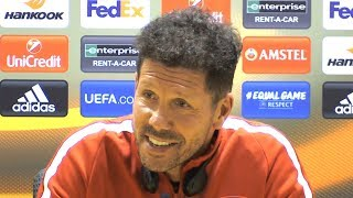 Diego Simeone Full Pre-Match Press Conference - Arsenal v Atletico Madrid - Europa League