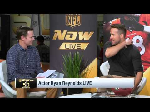 "Ryan Reynolds Talks ""Deadpool"", Answers Stupid Questions & Comic Debates   NFL"