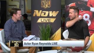 "Ryan Reynolds Talks ""Deadpool"", Answers Stupid Questions & Comic Debates | NFL"