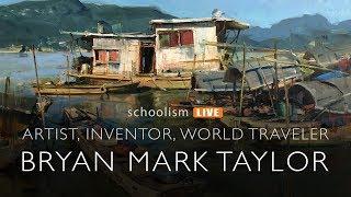Bryan Mark Taylor: Artist, Inventor, World Traveler