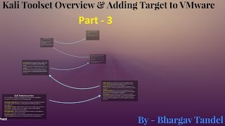 ethical hacking course part 3 kali toolset overview adding new target to vmware