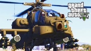 GTA 5 SP #21 - AH-64D Longbow Apache Mod