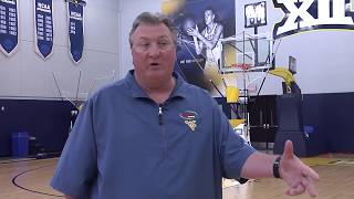 Great Motion Shooting drill with Bob Huggins of WVU