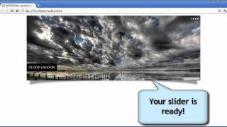 How to create image slider in a few clicks