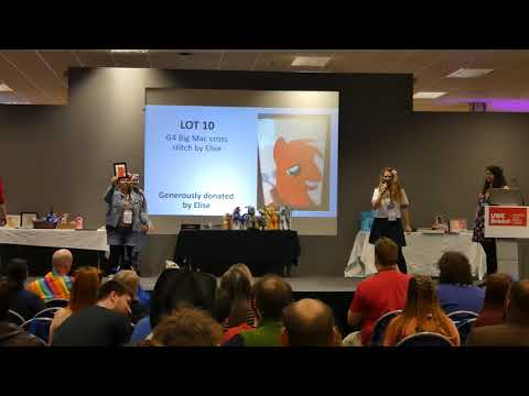 UK PonyCon 2017 - Charity Auction