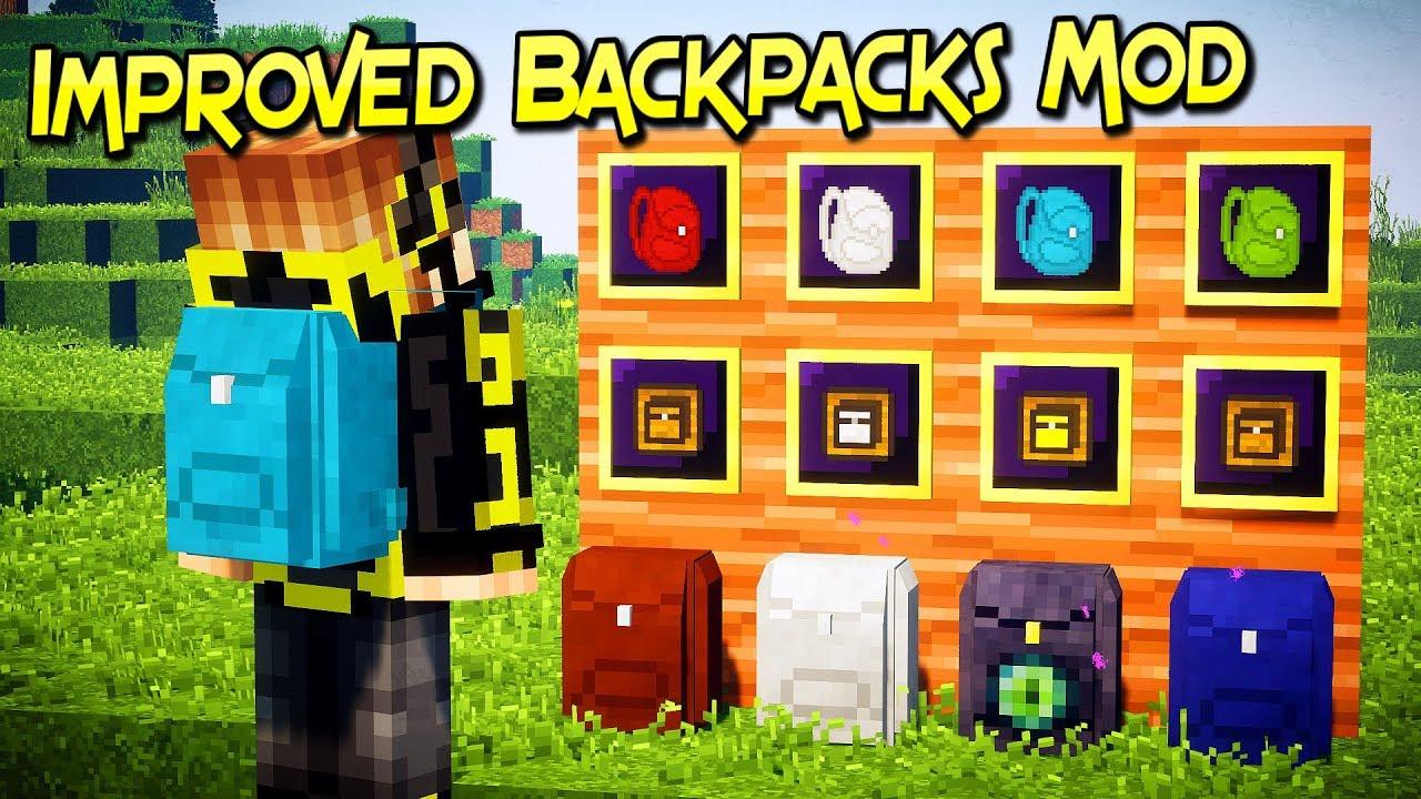 8193f2b72902 Improved Backpacks 1.12.2-1.10.2