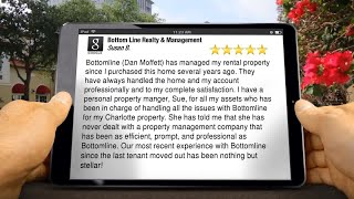 Bottom Line Realty & Management Review Fieldstone Concord NC