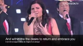 Vida Minha - Lyrics Translation in English Karaoke - Portuguese Eurovision 2012