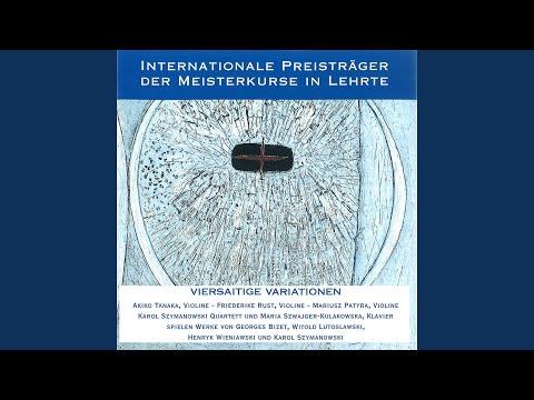 Partita für Violine und Klavier: IV. Ad libitum