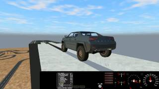 Rigs of Rods Gameplay | Crashes