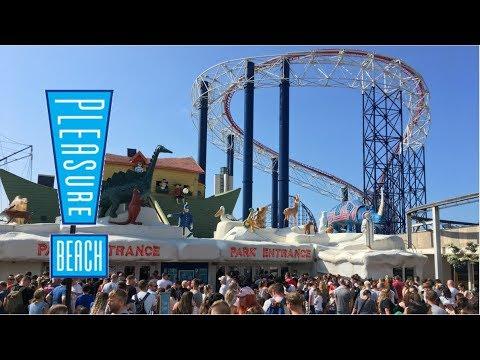 Blackpool Pleasure Beach Vlog July 2018