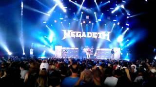 Megadeth Trust Live -  Incomplete- Camden NJ - July 31 2011