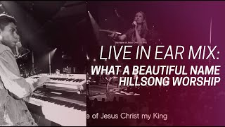 What A Beautiful Name | Water | Break Every Chain - Woodlands Worship (Live Keys In-Ear Mix)