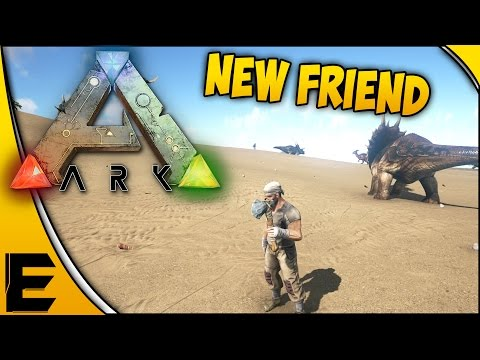 "ARK Survival Evolved Gameplay ➤ ""Working On A Bridge & Meeting New Friends"" [Part 16]"