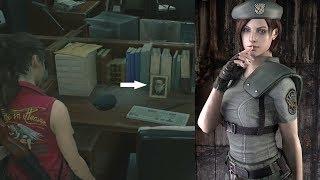 Resident Evil 2 Remake: Jill Valentine's Boyfriend Original Vs Remake